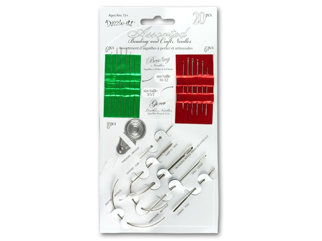 Image of assorted beading needles