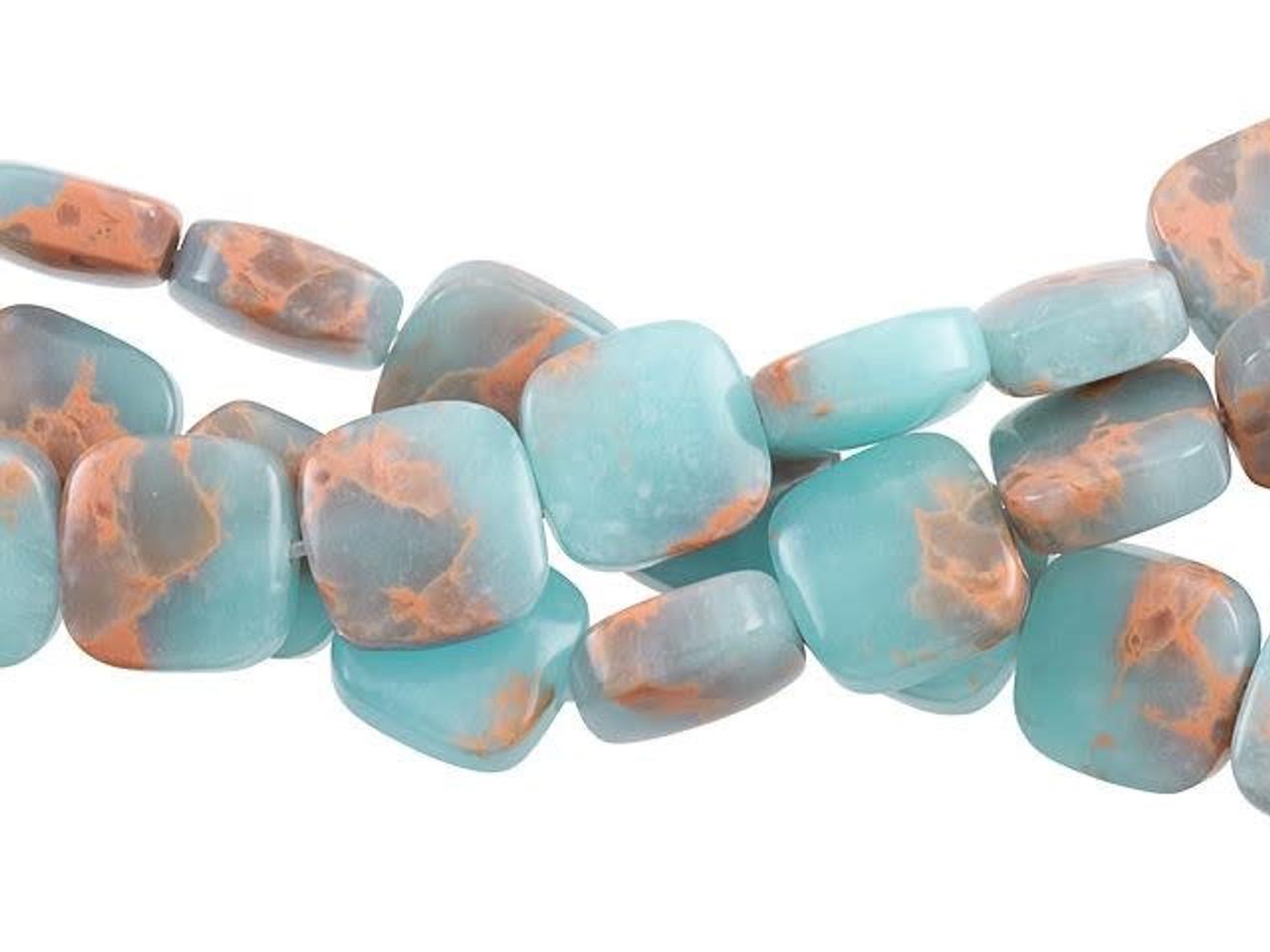 8 Gorgeous Round Midnight Blue Impression Jasper Gemstone Beads 12 mm