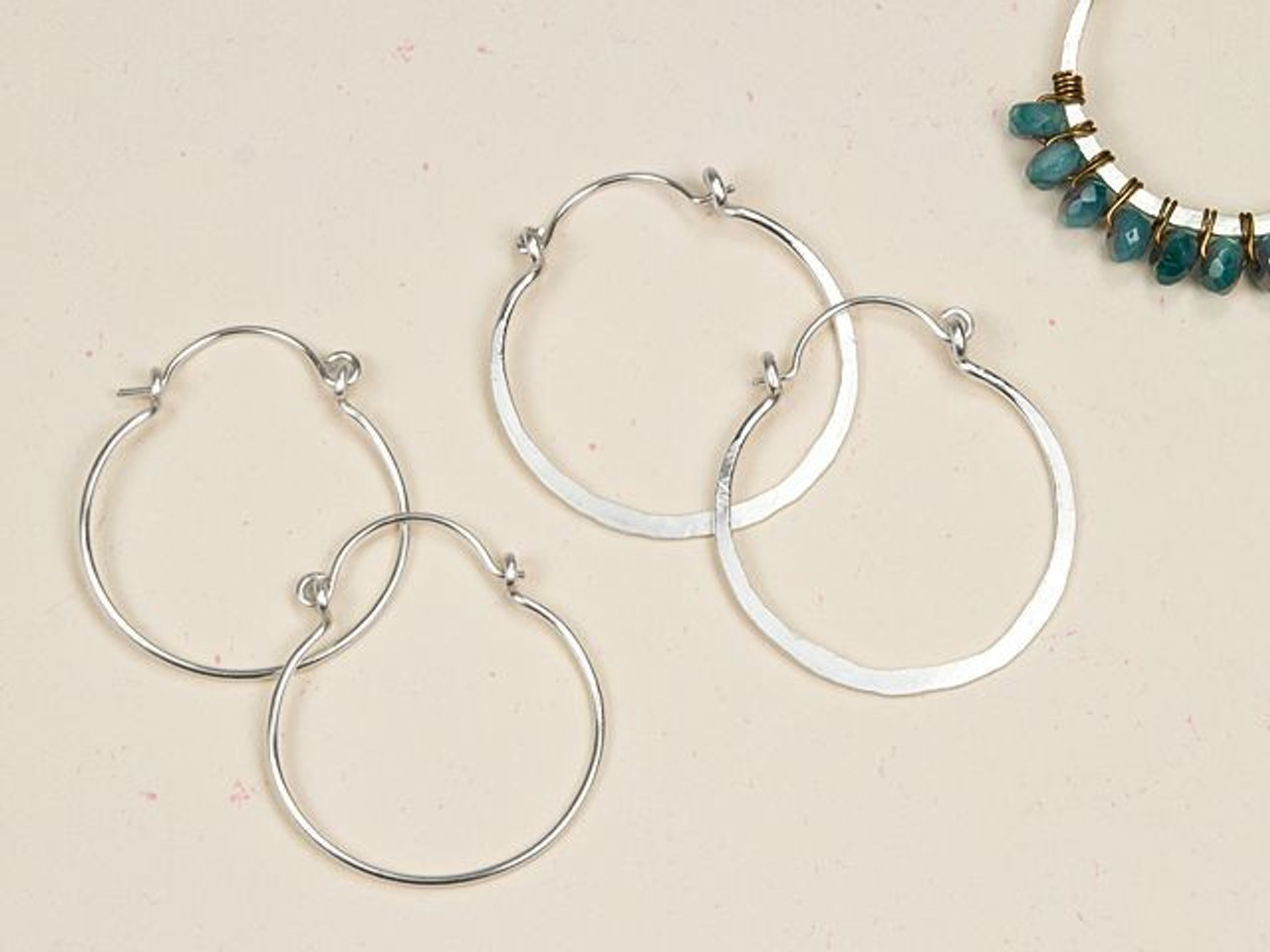 1 LARGE STERLING SILVER 925 SIMPLE ROUNDED PENDANT PINCH BAIL HOLDER 12 X 7 MM