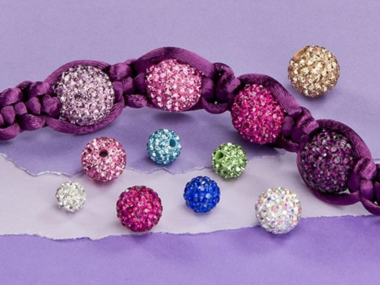 Porcelain Oval Beads 8 x 10mm White//Violet 10 Pcs Art Hobby DIY Jewellery Making