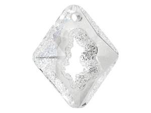 6926 Growing Crystal Rhombus Pendant