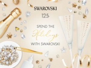 Spend the Holidays with Swarovski - December