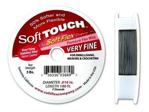 Soft Touch Jewelry Wire