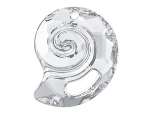 6731 Twist Shell Partly-Frosted Pendant