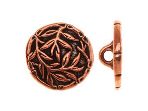 Made in USA 12mm Buttons Vermeil Heart Button 2 Vermeil Gold Buttons Gold Round Buttons