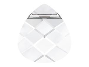 6012 Flat Briolette Pendants