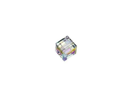 5601 ** 8 Perles Cubes Swarovski 4 mm Crystal cooper**