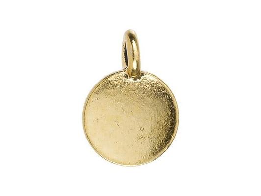 Mini Mini Jewels 14k Gold Dazzling Citrine Birthstone Set Zodiac Scorpio Dog-tag Pendant Nacklace