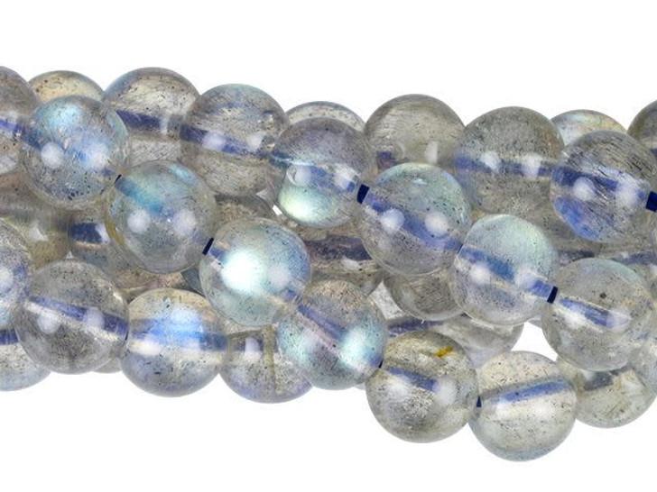 Dakota Stones (AAA Grade) Labradorite 4 - 5mm Round Bead Strand
