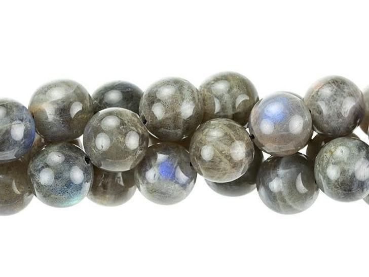 Dakota Stones 10mm Labradorite (A Grade) Round Bead Strand