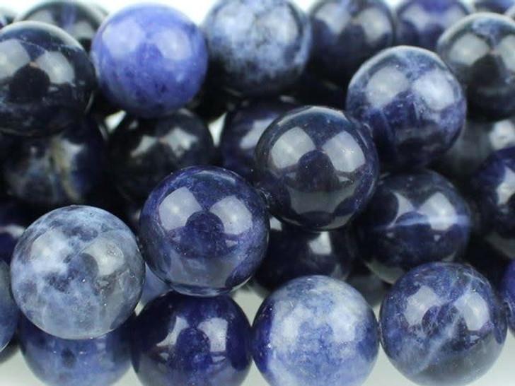 Dakota Stones 10mm Sodalite Round Bead Strand