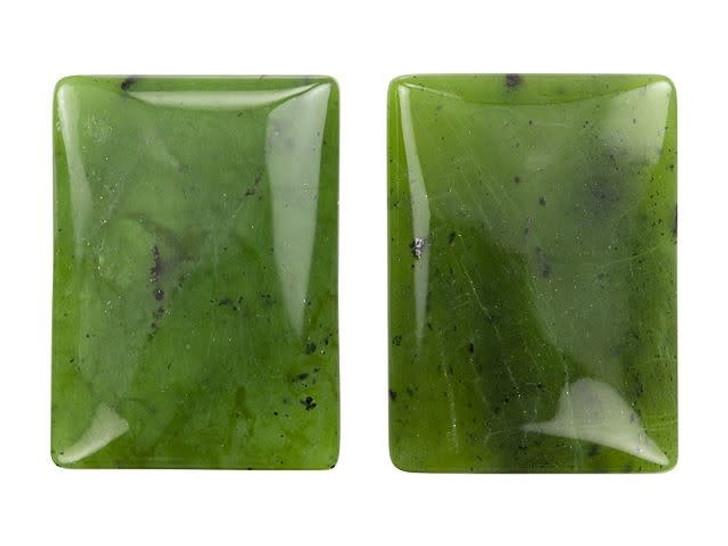 Dakota Stones 25 x 18mm Jade Rectangle Cabochon
