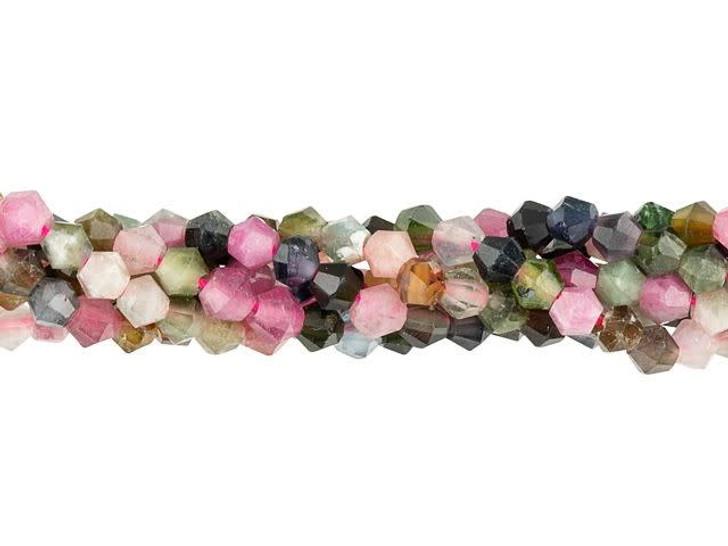 1 Imitation Pink Shell 2-3mm Tube Heishi Spacer Beads