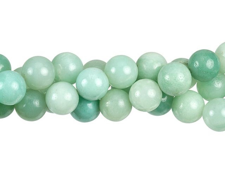 Dakota Stones Amazonite 10mm Round Bead Strand
