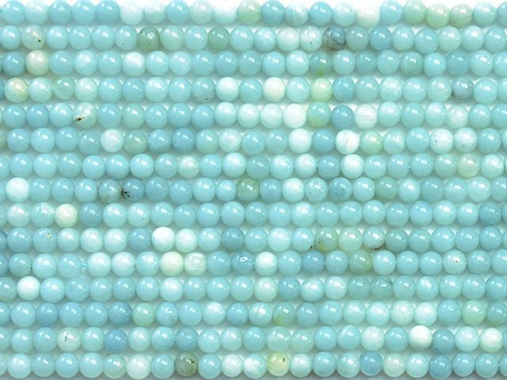 Dakota Stones Amazonite 6mm Round Bead Strand