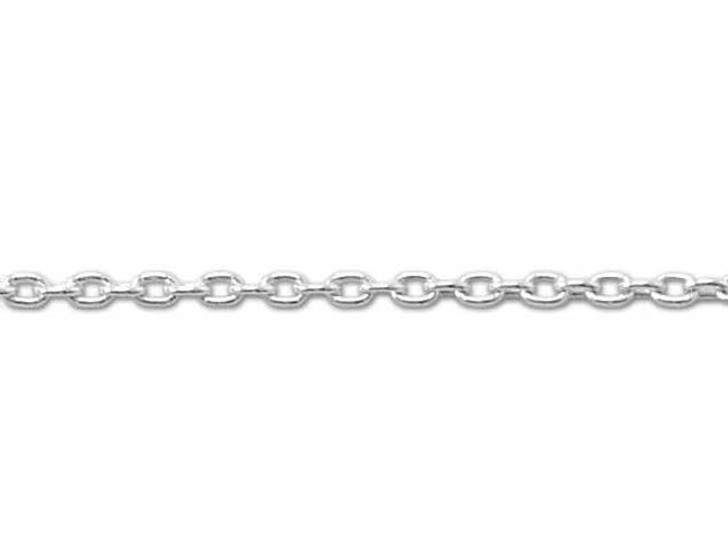 030 Sterling Silver Cable Chain by the Foot