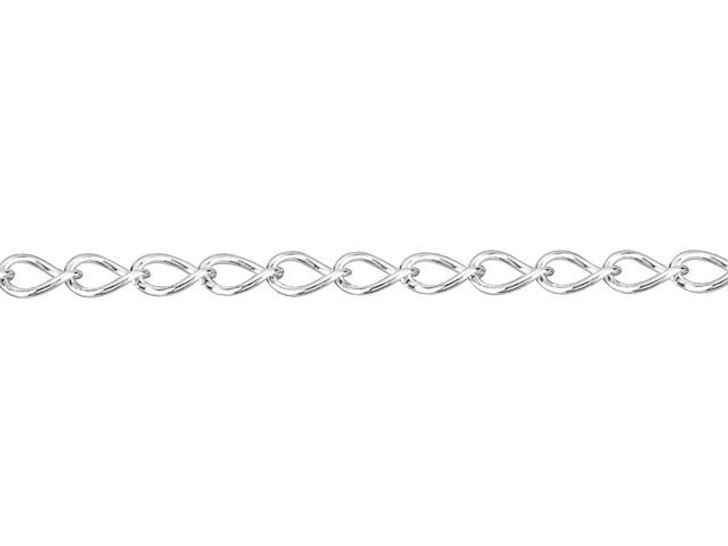 035 Sterling Silver Curb Chain by the Foot