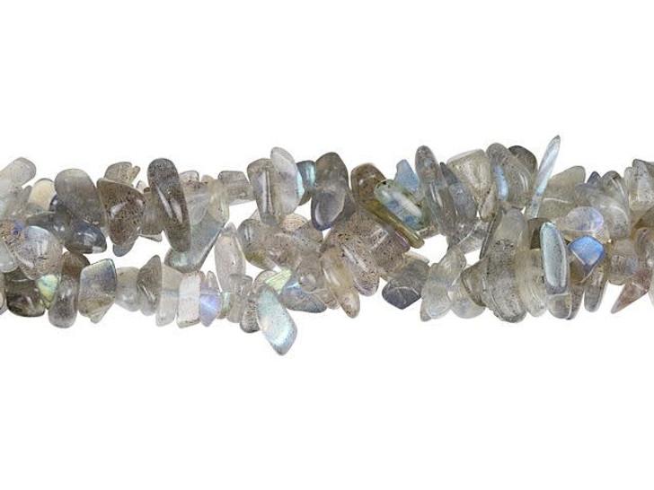 Dakota Stones Labradorite 6-10mm Chip Bead Strand