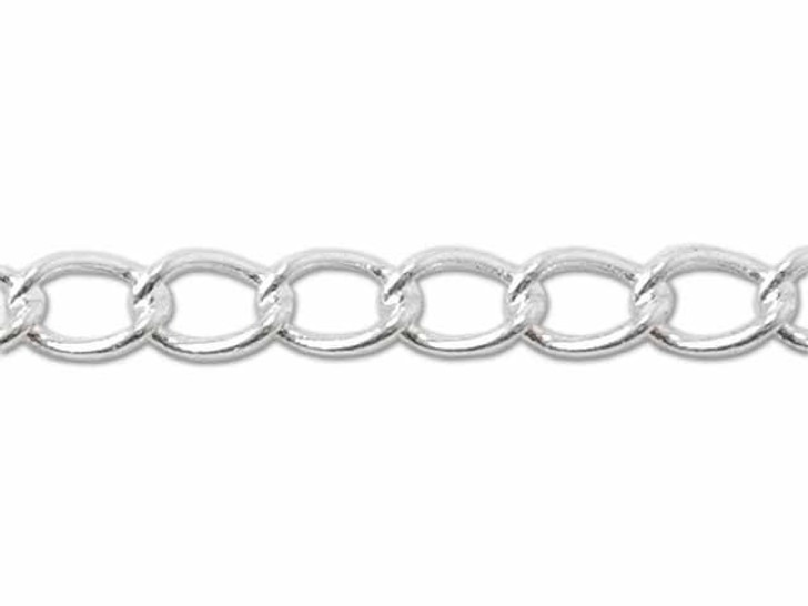 060 Sterling Silver Curb Chain by the Foot