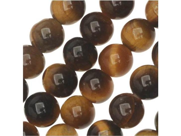 Dakota Stones Tiger Eye 6mm Round Bead Strand