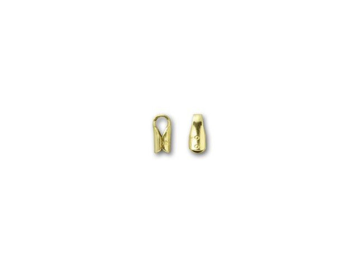 1.5mm Gold-Filled Round End Cap with Loop