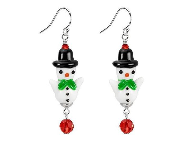 Frosty Snowman Earrings Kit