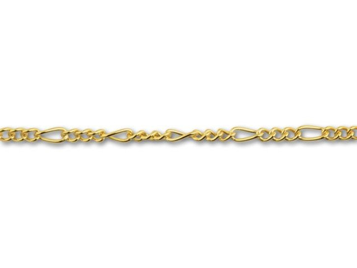 Gold-Filled 040 Figaro Chain by the Foot
