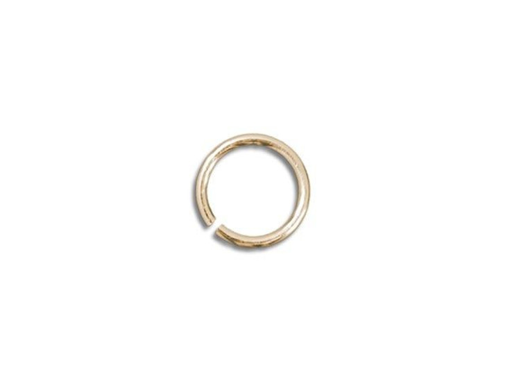 Gold-Filled 14K Open Jump Ring 0.025 x .120 inches (0.6 x 3.05mm)