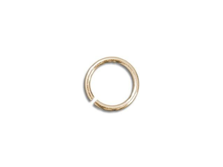 Gold-Filled 14K Open Jump Ring 0.025 x .130 inches (0.6 x 3.3mm)