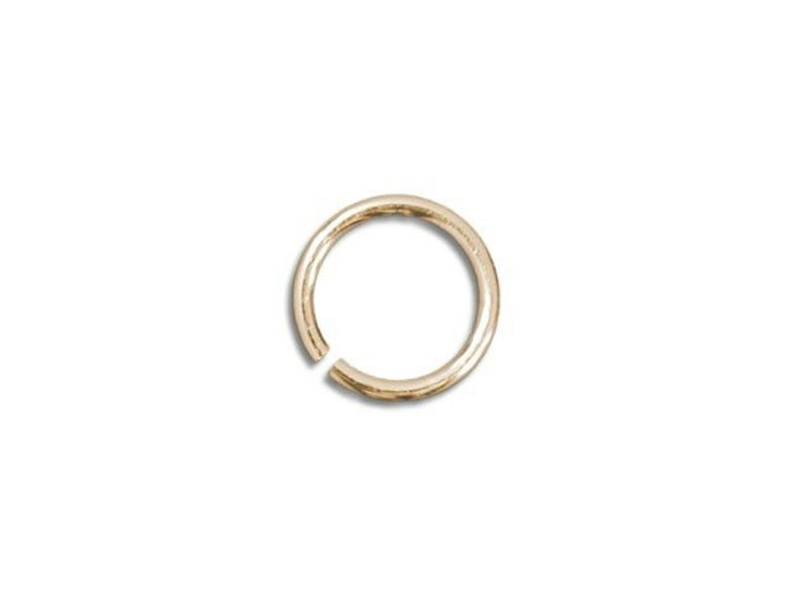 Gold-Filled 14K Open Jump Ring 0.025 x .140 inches (0.6 x 3.55mm)