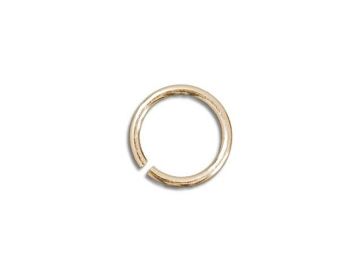 Gold-Filled 14K Open Jump Ring 0.025 x .150 inches (0.6 x 3.8mm)