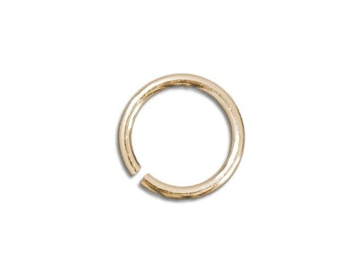 Gold-Filled 14K Open Jump Ring 0.025 x .180 inches (0.6 x 4.6mm)