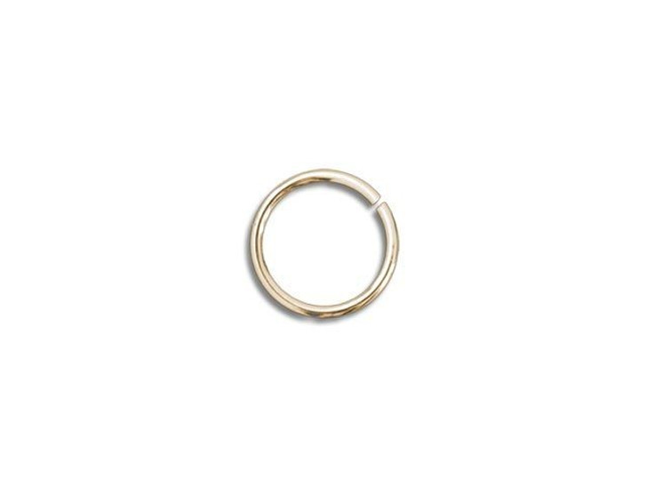Gold-Filled 14K Open Jump Ring 0.030 x .120 inches (0.75 x 3.05mm)