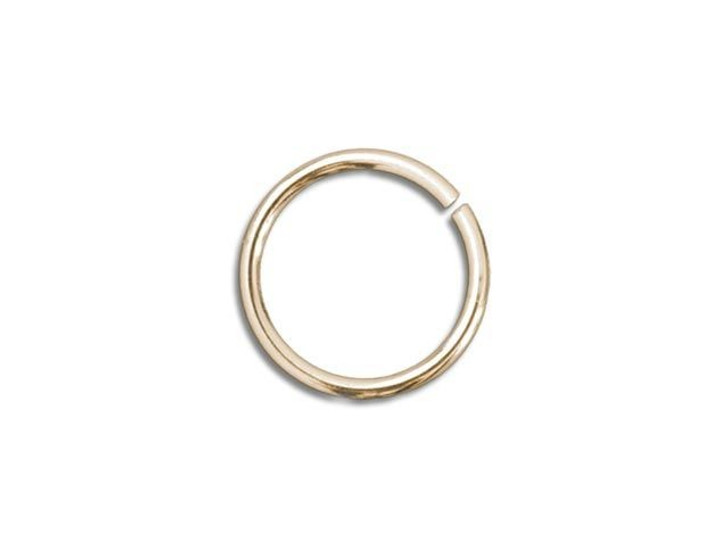 Gold-Filled 14K Open Jump Ring 0.030 x .180 inches (0.75 x 4.6mm)