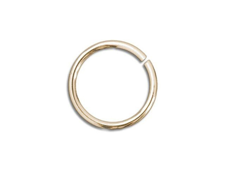 Gold-Filled 14K Open Jump Ring 0.030 x .210 inches (0.75 x 5.35mm)
