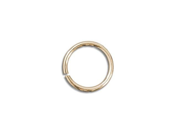 Gold-Filled 14K Open Jump Ring 0.035 x .150 inches (0.9 x 3.9mm)