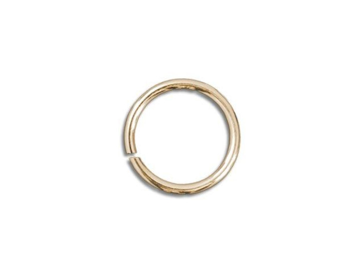 Gold-Filled 14K Open Jump Ring 0.035 x .170 inches (0.9 x 4.3mm)
