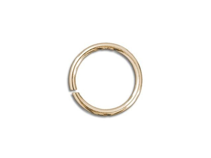 Gold-Filled 14K Open Jump Ring 0.035 x .180 inches (0.9 x 4.6mm)