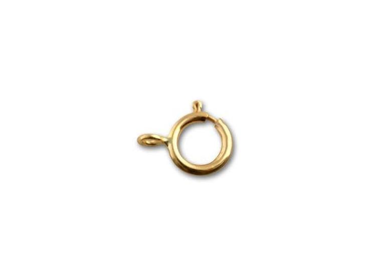 Gold-Filled 6mm Spring Ring