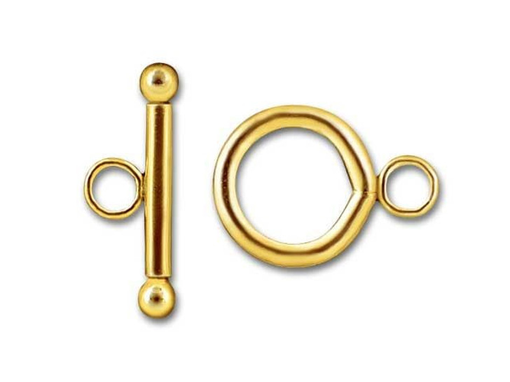 12mm Gold-Filled 14K/20 Toggle Clasp