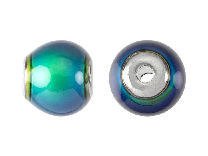 12mm Mirage Mood Round Bead