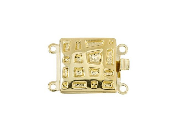 Gold-Plated Matrix Clasp