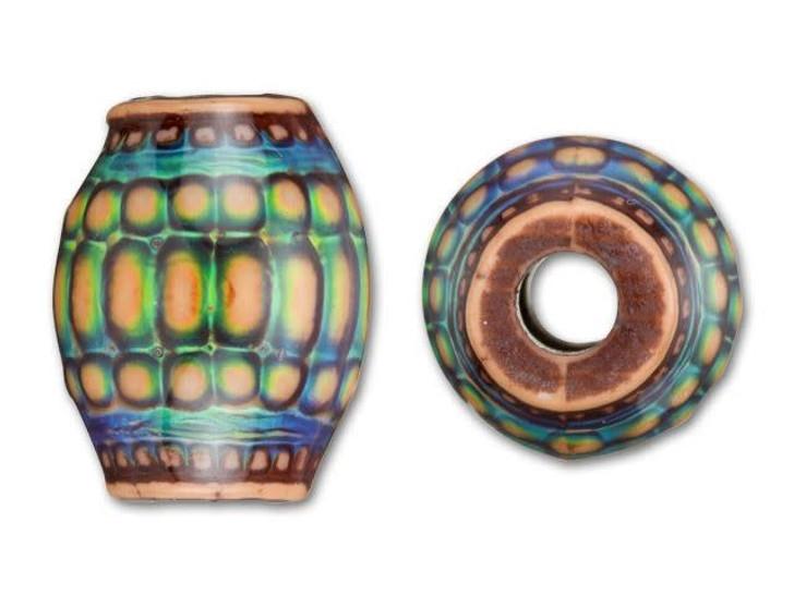 13x16mm Mirage Mood Moon Basket Bead
