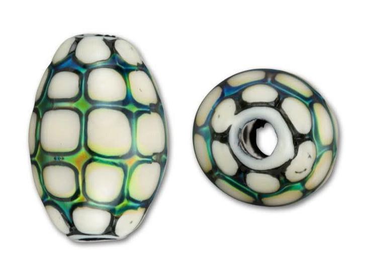 13x19mm Mirage Mood Ocean Pearl Bead