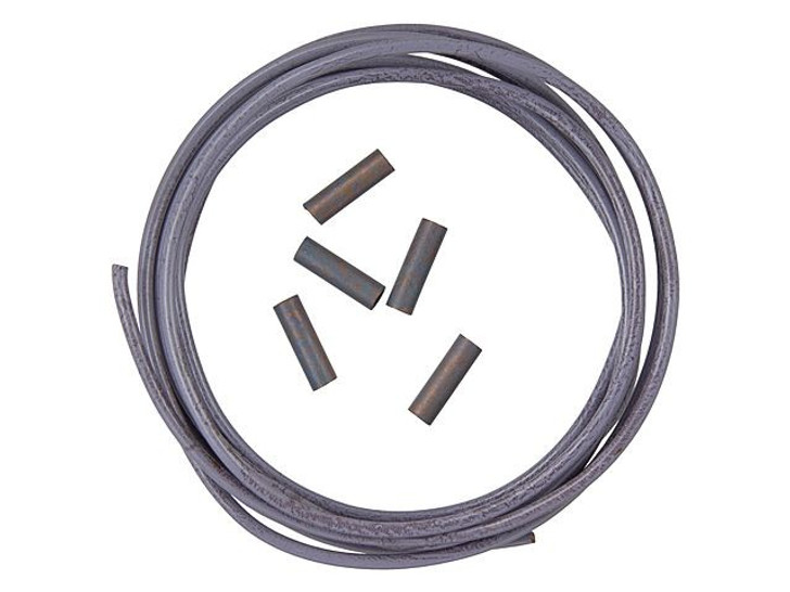 14-Gauge Artistic Wire, Mauve Artsy Wire, 3 Feet with 5 Crimp Connectors