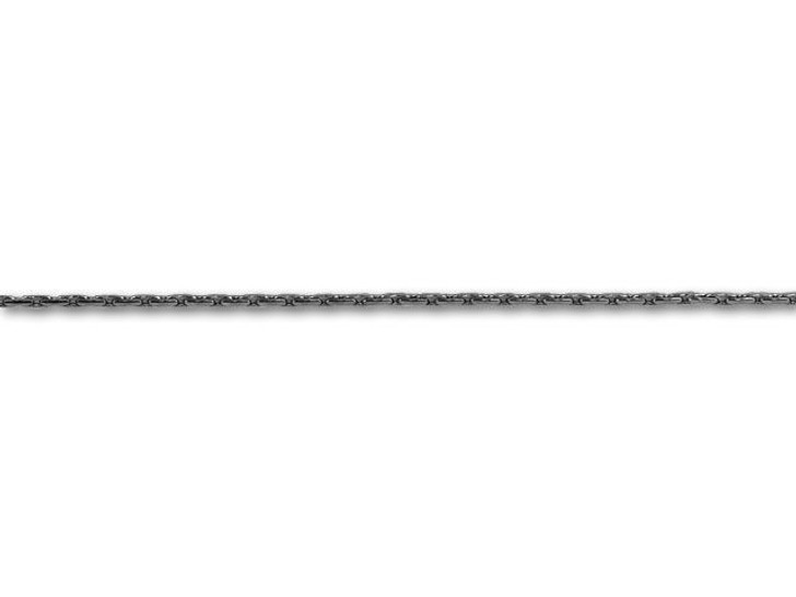 Gunmetal-Plated .75mm Beading Chain by the Foot