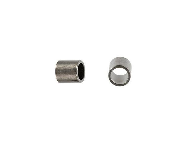 Gunmetal-Plated 2 x 2mm Crimp Tube