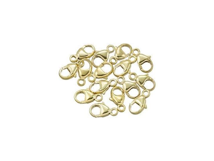 Gold-Filled 14K/20 9x4.8mm Oval Trigger Clasp Bulk Pack (15 Pcs)