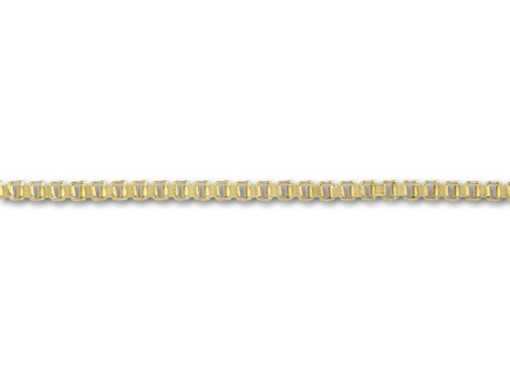 Gold-Filled 14K/20 0.85mm Box Chain by the Foot