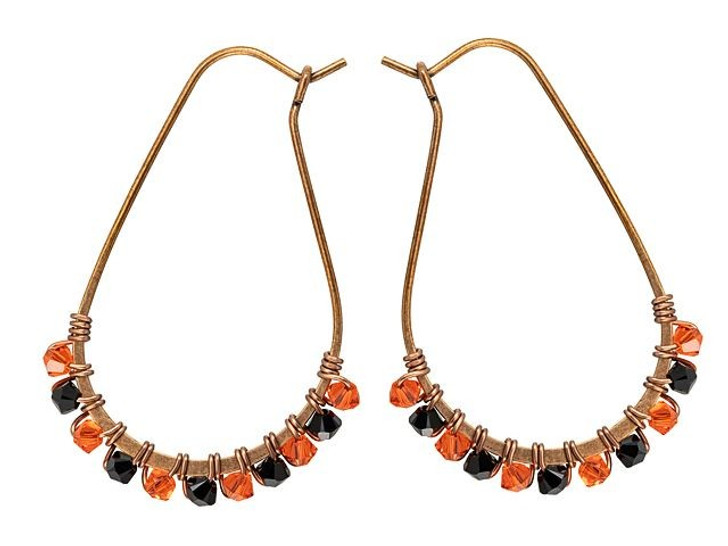 Halloween Jewels Earrings Kit Featuring Swarovski Crystals